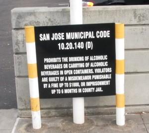 Parking Code Sign