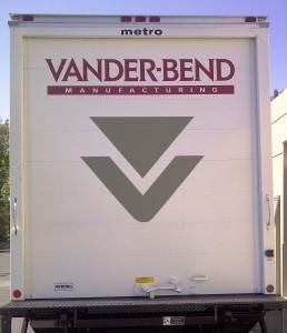 Truck Rear Door Graphic