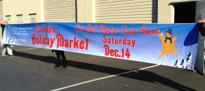 Street Banner Built to City of Mountain View Specs