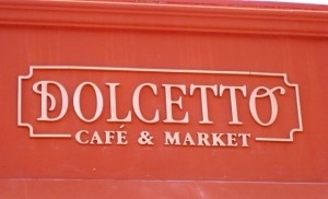 New Cafe - New Sign - Formed Letters