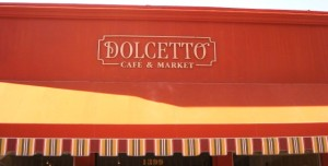 New Logo Sign For Dolcetto Cafe - Custom Letters