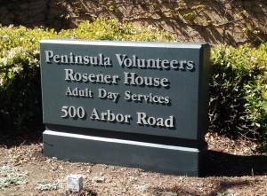 Refurbished Monument Sign - Peninsula Volunteers