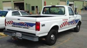 Security Truck Graphics - Great America Park