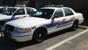 Custom vehicle graphics - Great America Park Security