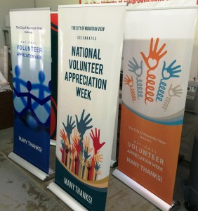 National Volunteer Week - City of Mountain View Posters