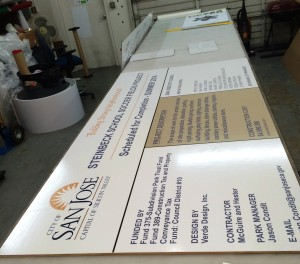 Site Sign in process - Steinbeck School Soccer Field