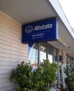 New Blade signs for Allstate