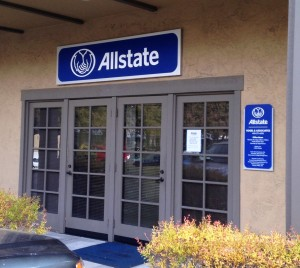 New Allstate Signs with New Logo