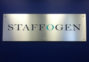 Staffogen New Lobby Sign