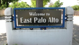 New City of East Palo Alto Welcome Sign