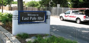 New Custom Welcome Sign for City of East Palo Alto
