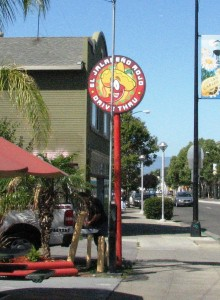 New Pole Sign - Double sided - El Jalapeno Rojo Restaurant