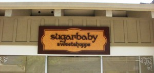 Custom Dimensional sign - Sugar Baby Sweet Shoppe