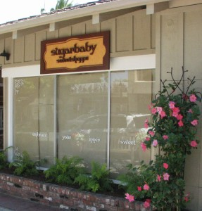 New sign for a candy store - Sugar Baby Sweet Shoppe