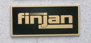 Brass Plaque for Finjan