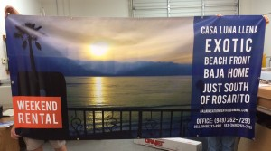 Full Color Banner - Baja Rentals