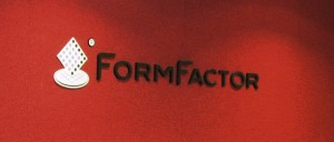 Board room logo sign - New logo for Form Factor