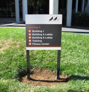 New Campus Signs for Marvell