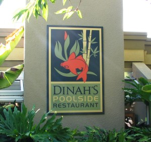 Large Wall Sign - Dinha's