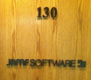 Door Signage - Dimensional - JAMF Software