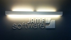 JAMF Software Lobby Sign
