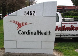 Refurbished monument - Cardinal Health
