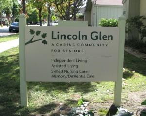 Entry Monument - Lincoln Glen