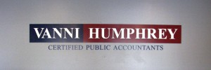 Custom Lobby Sign - Vanni Humphrey