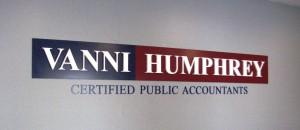 Dimensional Lobby Sign - Vanni Humphrey