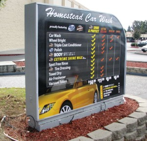 New Menu Graphic - Homestead Car Wash