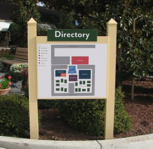 Directory Monument - Lincoln Glen
