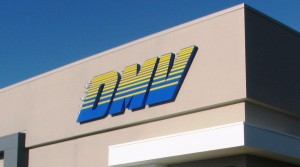 "48"" Tall LED Channel Letters - New DMV Office"