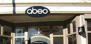 ABEO Dimensional building sign