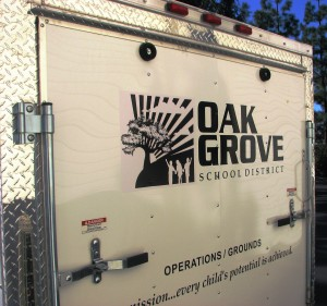 Trailer Graphics - Oak Grove School District