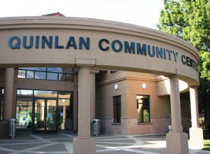 New Dimensional Letter Sign - Cupertino Quinlan Community Center