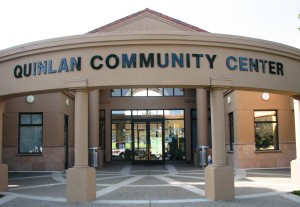 New Building Sign - Cupertino Quinlan Community Center