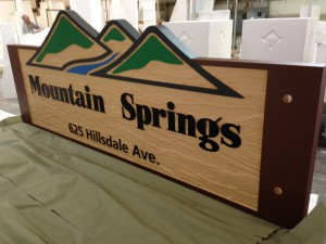 Monument In Final Production - Mountain Springs Mobile Park