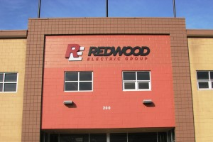 New Building Sign - Redwood Electric