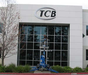 Dimensional Logo Sign - TCB