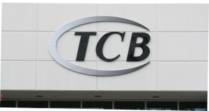 Custom Dimensional Building Sign - TCB