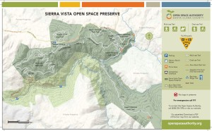 Trail Map - Open Space