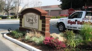 Custom Design Monument - Woodbridge MHP