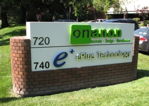 New Monument with Dimensional Logo - OnanOn - ePlus Tech