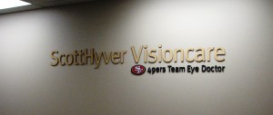 Custom Lobby Sign - ScottHyver Vision