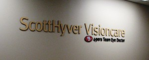 Dimensional Lobby Sign - ScottHyver Vision