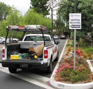 Parking Directional Sign - Progyny