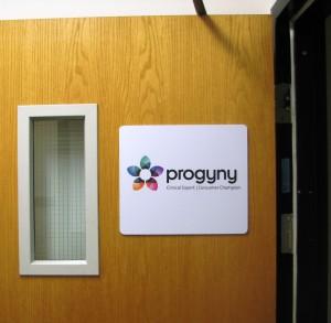 Interior Door Sign - Progyny