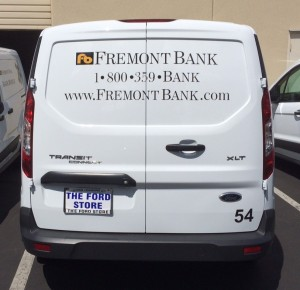 Simple Vehicle Graphics - Fremont Bank