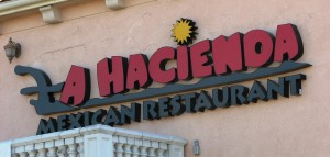 Custom LED Channel Letters & Logo - La Hacienda Restaurant