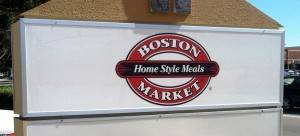 New Monument Faces - Boston Market Logo